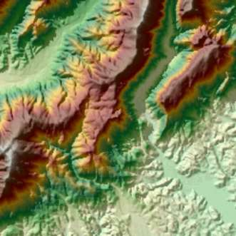 Maps - Dem elevation data